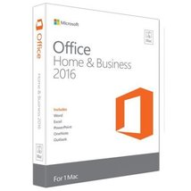 Microsoft Office for Mac Home and Business 2016 - $64.99