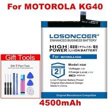 Losoncoer KG40 4500mAh Replacement Phone Battery For Motorola KG40 Mobile Phone - $22.05