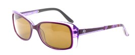 Harley Davidson HD0302X 81A Women's Sunglasses Violet 56-16-135 Brown Lens +CASE - $42.31