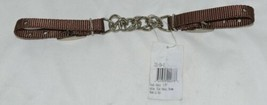 Courts Saddlery 1315901 Curb Chain Nylon Flat Chain Brown image 2