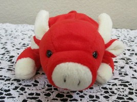 Ty Beanie Baby Snort the Red Bull NO TAG - $4.94