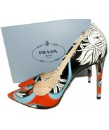 Prada  Patent Leather Classic Pointy Toe Pumps Shoes 39.5 Heels - $339.00