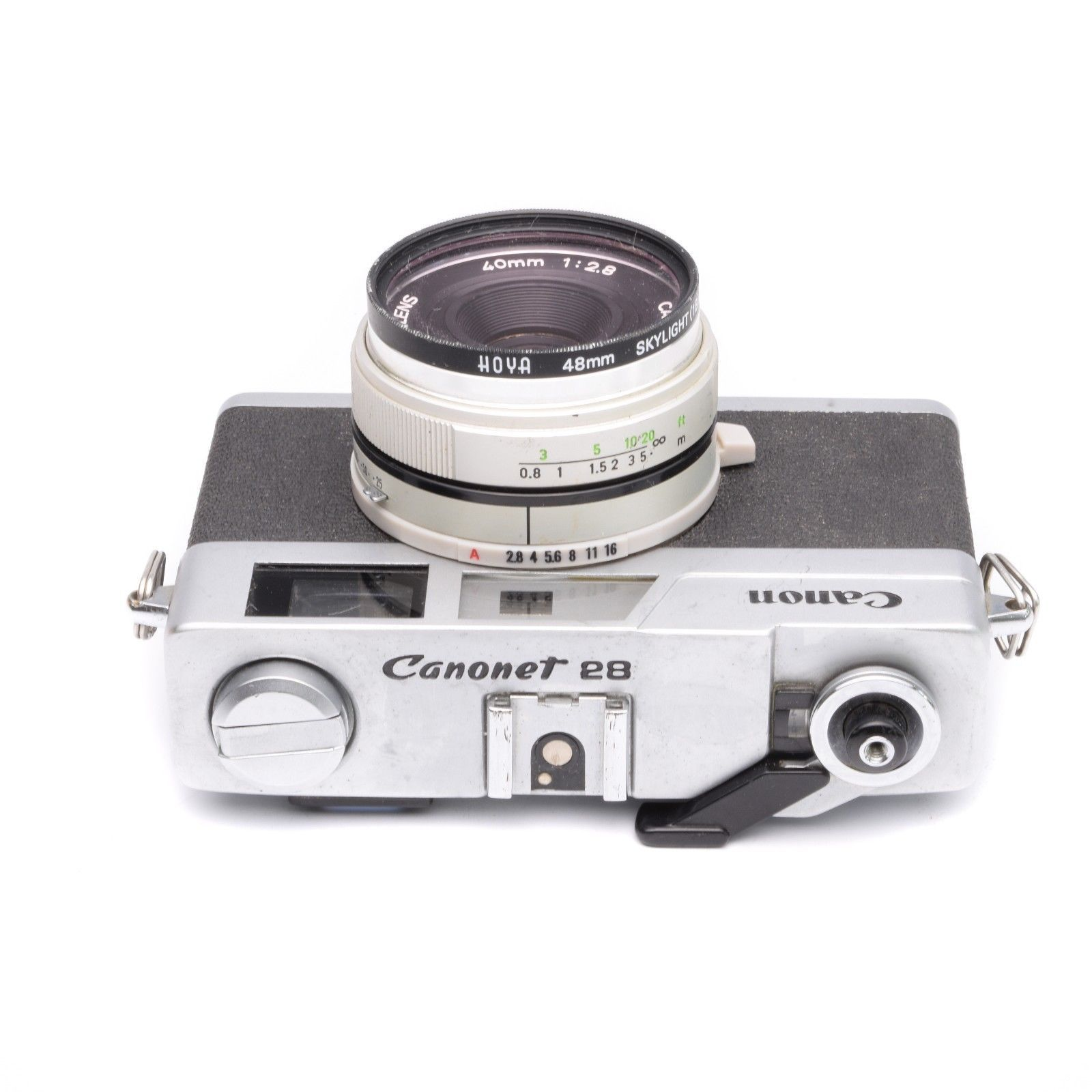 Canon Canonet 28 Camera with 40mm f/2.8 Lens c.1971