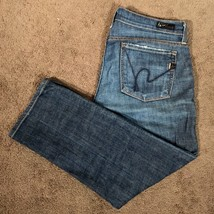 Citizens Of Humanity Womens Kelly 063 Cropped Capris Jeans Low Waist 26 x 23 - $21.77