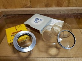 Vtg Argus 41 mm 2 Diopter Portrait Optical Glass Filter Kodak Adapter Ri... - $23.95