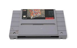 SimCity (Super Nintendo Entertainment System, 1991) Video Game Cart Only Works - $8.90