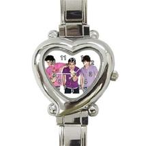 Ladies Heart Italian Charm Watch Jonas Brothers Gift model 37625520 - $11.99