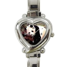 Ladies Heart Italian Charm Watch Sleeping Panda Cute Animal Gift model 2... - $11.99