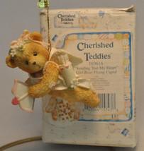 Cherished Teddies - Sending You My Heart - 103616 - Flying Cupid - $11.18