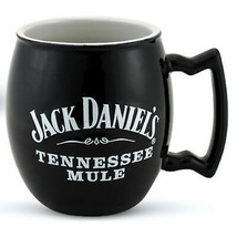 Jack Daniel's 18 Oz Ceramic Coffee Mug Black - $21.98