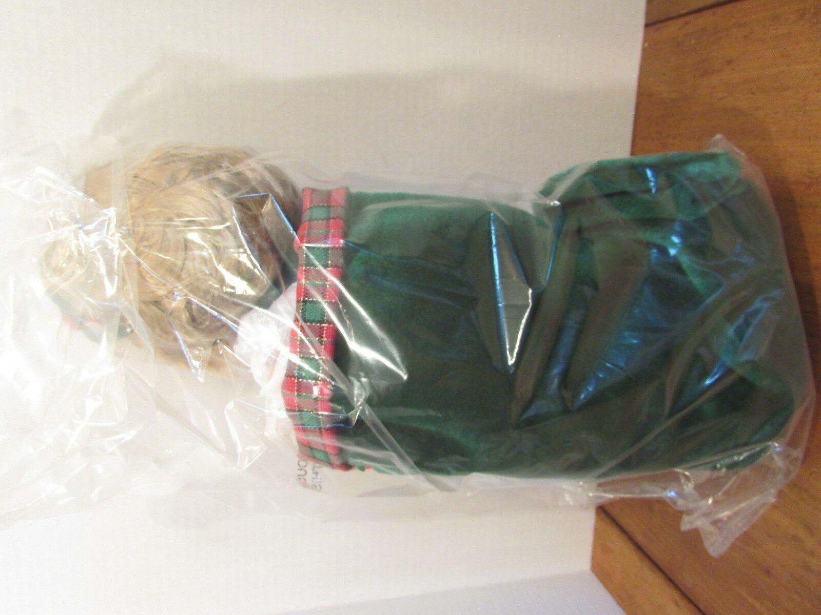 "Precious Moments 2000 christmas carol stocking  Doll  13"""