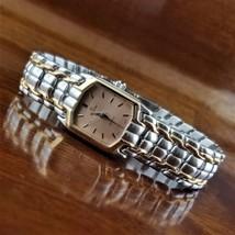 New Women's ELGIN Silver & Rose Gold TN Rectangle Bracelet Watch - $69.95