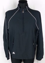 Adidas Long Sleeve Women's 1/2 Zip Track Jacket... - $12.19