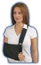 Med Spec Arm Sling with soft padded shoulder strap, Black, X-Large - $13.99