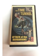 The Time Tunnel attack of the Barbarians VHS Tape Horror Movie   - $14.01