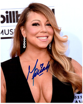 MARIAH CAREY  Authentic Original SIGNED AUTOGRAPHED PHOTO w/ COA 261 - $85.00