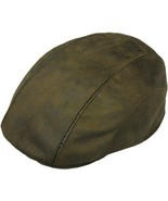 Henschel Faux Leather 3 Panel Ivy Sweatband And Cotton Lining Brown Blac... - $51.00