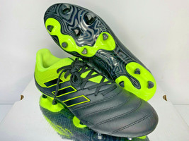 NEW SIZE 9.5 Adidas Copa 19.3 FG Soccer Cleats BB8090 BLACK NEON Shoes F... - $39.59
