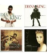Lot of 4 CDs Diana King Celine Dion - No Cases - $1.99