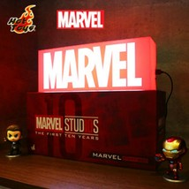 Hot Toys Marvel Logo Light Box The Avengers End Game Exclusive Japan Rare Fs New - $258.00