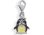 74208 enamel penguin charm with lobster clasp thumb155 crop