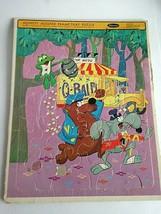 """1965 Whitman Hooper-Ward Hippity Hooper Frame Tray Puzzle Cartoon Puzzle 14X11"""" - $15.64"""