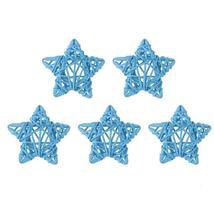(05)5pcs 6cm Lovely Rattan Star Ball DIY Hanging Ornaments Xmas Birthday... - $14.00