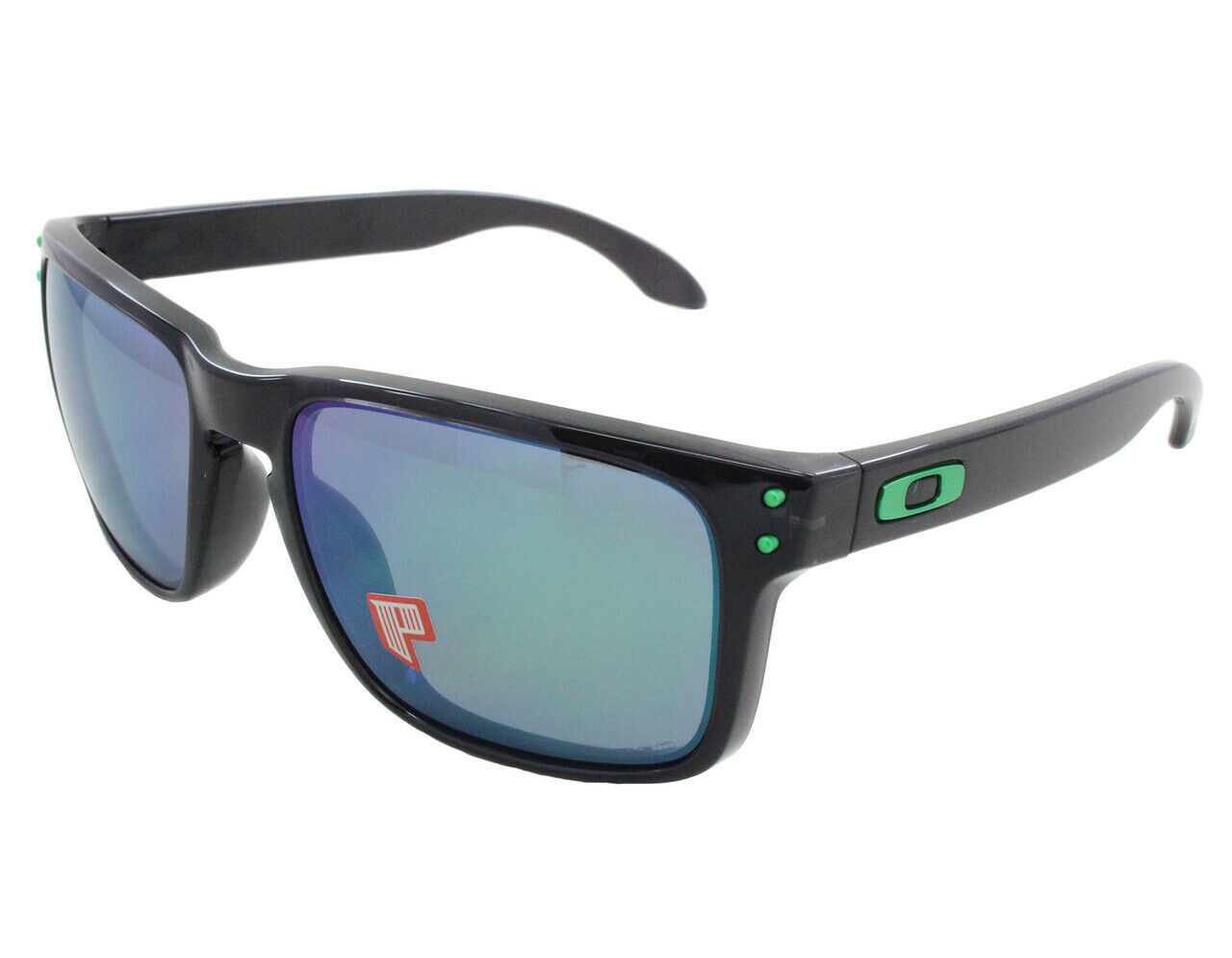 Primary image for Oakley Sunglasses Ink Collection Holbrook Black ink w/Jade Iridim Polr OO9102-69