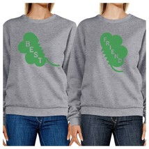 Best Friend Clover Funny Matching Sweatshirt For St Patricks Day - $40.99+
