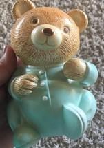 PIGGY BANK Vintage Baby Bear Pajamas Piggy Bank - $15.79