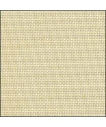 Ivory 36ct evenweave 19x35 cross stitch fabric Fabric Flair - $18.90