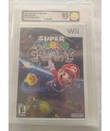 Super Mario Galaxy (Nintendo Wii) NEW FACTORY SEALED VGA 95 VGA GOLD - $445.50