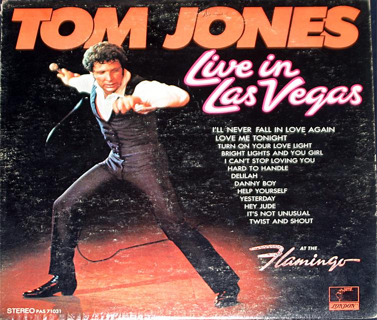 Tom jones live in vegas   cover