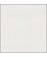 White 36ct evenweave 19x35 cross stitch fabric Fabric Flair - $16.20