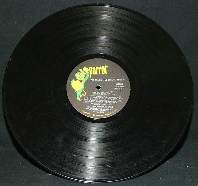 "Tom Jones  ""Live in Las Vegas""   LP"