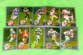 Nfl Lot Of 10 2003 Topps Chrome Football Superstar Collectors Cards Mnt - $3.15