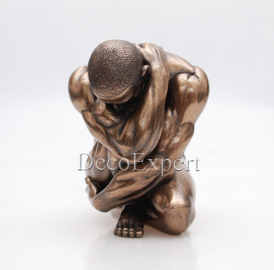 Male Nude Naked Man Athlete Bronze Sculpture * * * Free Air Shipping Everywhere