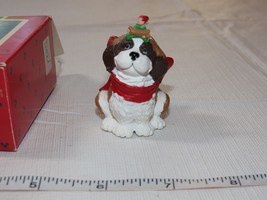 Hallmark  Keepsake Ornament Handcrafted Puppy's Best Friend 1986 Pre-Owned - $16.33