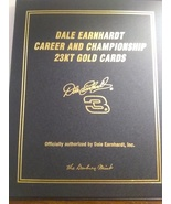 Dale Earnhardt Career and Championship 23kt Gold Cards Danbury mint - $8.99