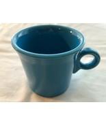 Medium Blue Ring-Handled Fiestaware Coffee Mug in Mint Condition - $7.99