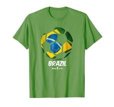 New Shirts - Best Brazil Soccer Ball Flag Jersey Shirt - Brazilian Futbol Men - $19.95+