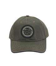 True Religion Men's Circle Patch Sports Solid Hat Baseball Strapback Cap image 6
