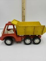 """Vintage toy Hubley dump truck no.1912 die cast 1969 Gabriel Ind. 7.75"""" - $19.79"""