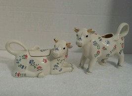 Lenox 2003 The French Country Cow Sugar & Creamer Set - $20.54