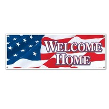 Welcome Home Sign Banner Party Accessory 1 count 1/Pkg - £7.13 GBP