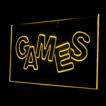 130022B Games Shop Room Software Kids Toys Display Accessible LED Light Sign - $18.00