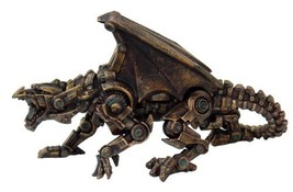 Steampunk Collection- Steampunk Dragon Sculptures Figurine - ₨2,098.16 INR