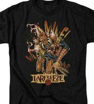 DC Comics Larfleeze Green Lantern Corps retro comics graphic black t-shirt GL317 image 3