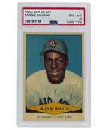 Minnie Minoso Chicago White Sox 1954 Red Heart Slabbed Baseball Card NM-... - $475.29