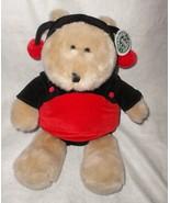 "Starbucks Bearista Bear 14th Edition Ladybug Large Plush Stuffed Animal 16"" - $39.57"